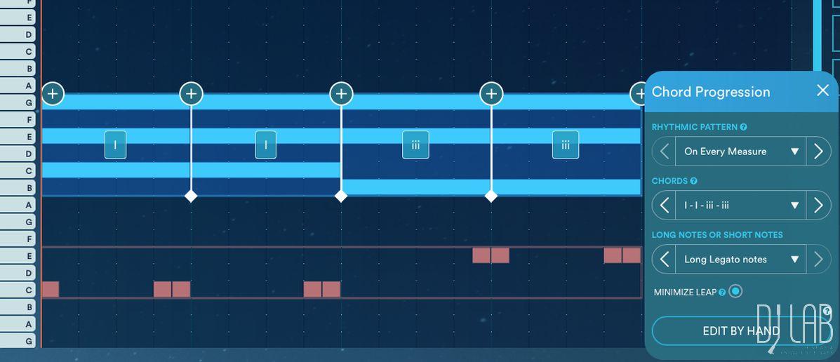 Akkordfolgen generieren