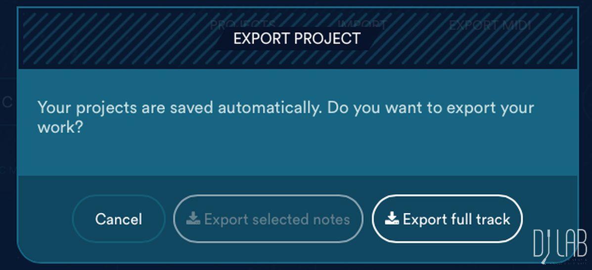 Songexport