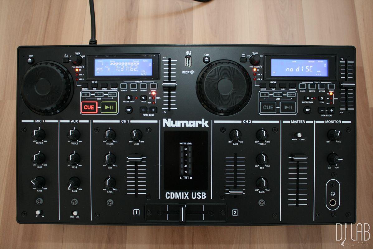 Test: Numark CDMIX USB – Auflegewerkzeug für mobile DJs