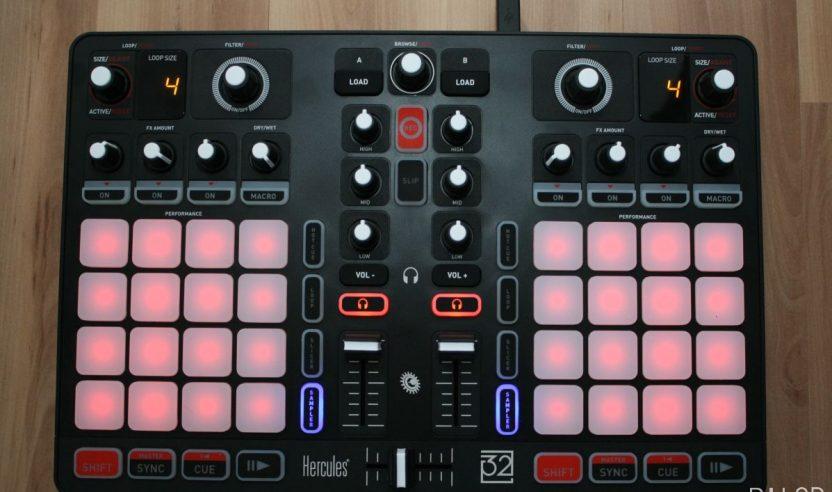 Test: Hercules P32 DJ & DJUCED 40°– Traktor Remixdeck Alternative?