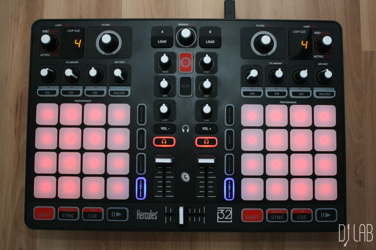 Test: Hercules P32 DJ & DJUCED 40°– Traktor Remixdeck Alternative?