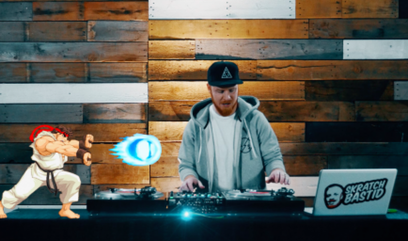 Video: Skratch Bastid's Knockout 'Street Fighter 2' Turntable Routine