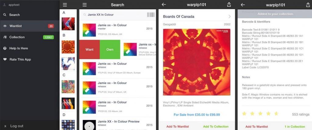 Offizielle Discogs App