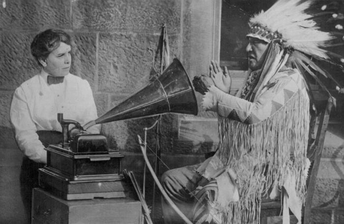 Der Phonograph von Edison