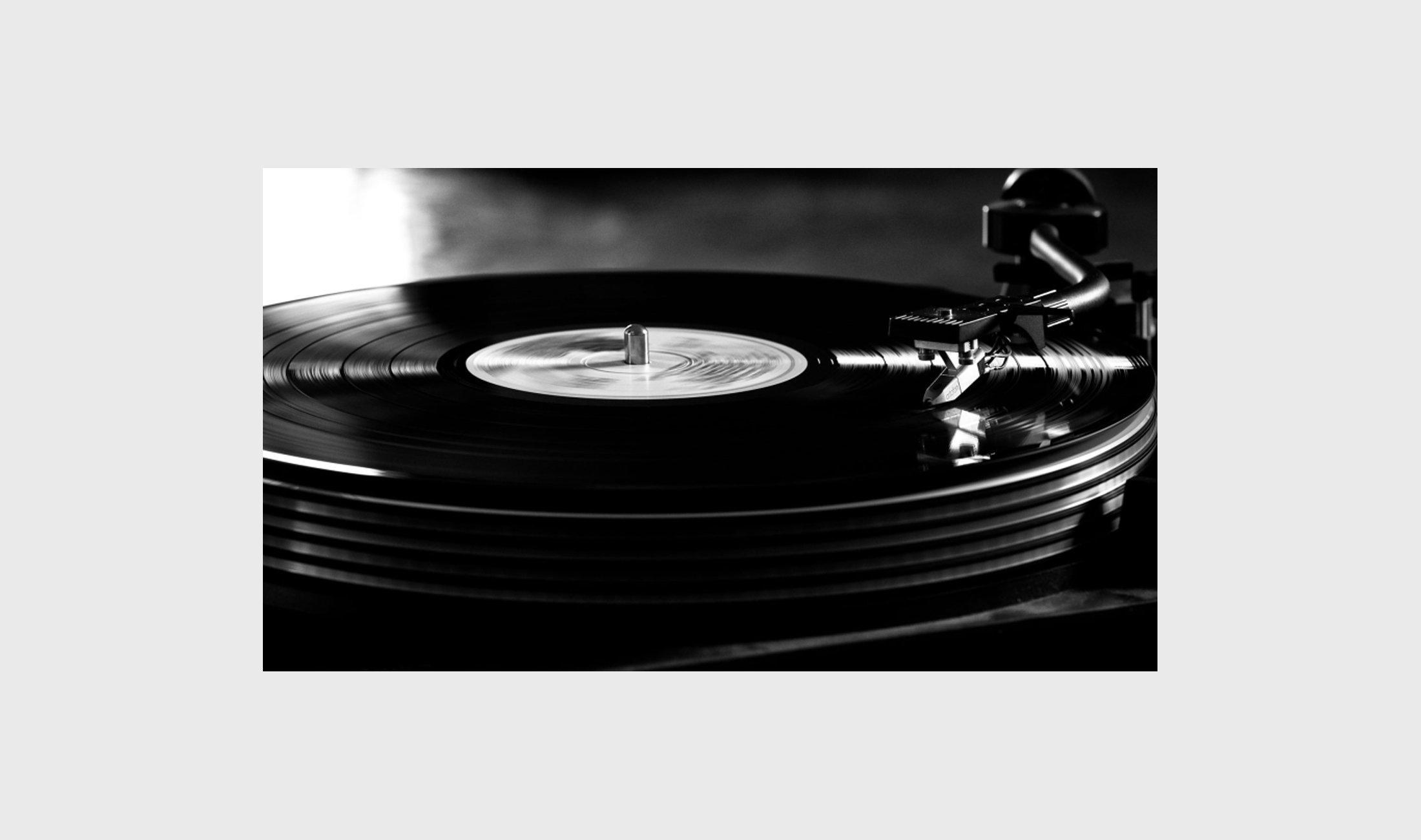 Schallplatten in High-End-Qualität