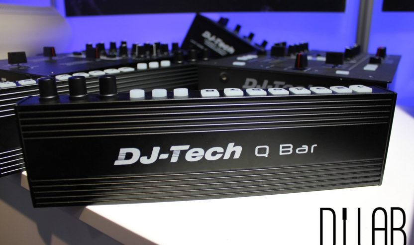 Musikmesse 2016: DJ-Tech Q-Bar - Add-On Midi-Controller
