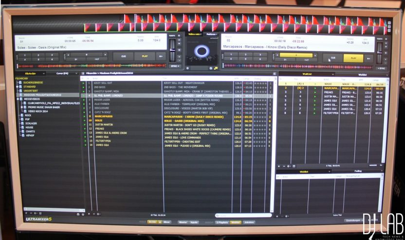 Musikmesse 2016: Ultramixer 5S Entertain - Smartes Update für die DJ-Software