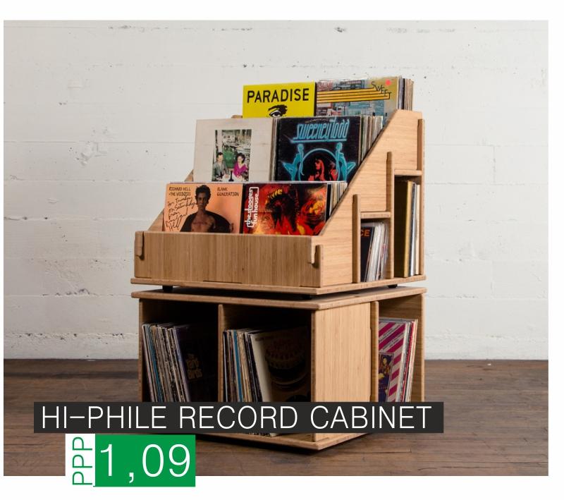 Hi-Phile Schallplattenregal