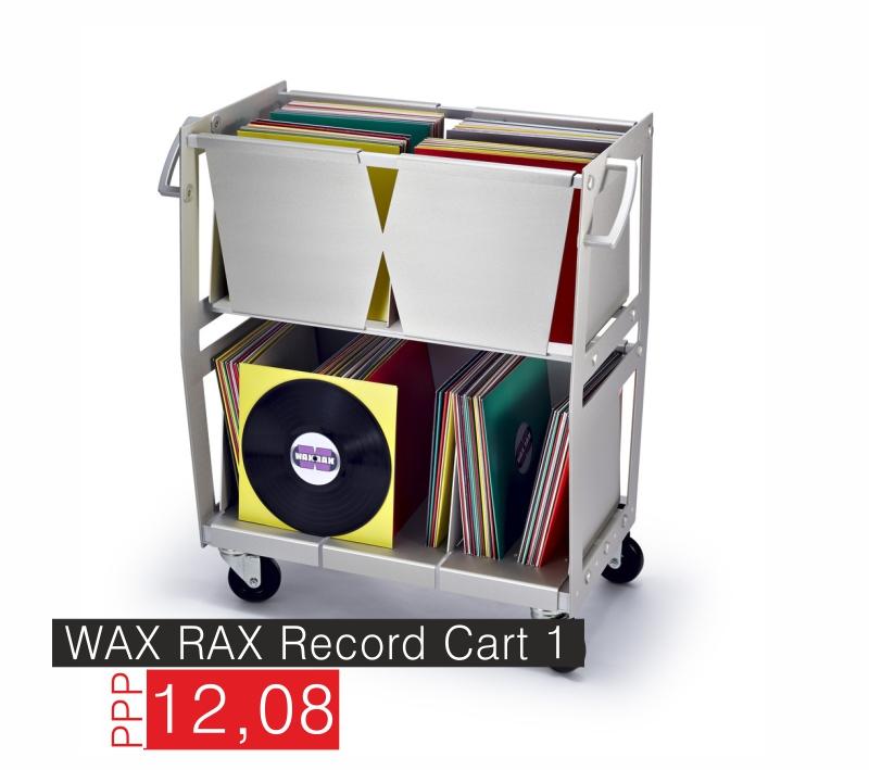 Wax Rax Plattenwagen