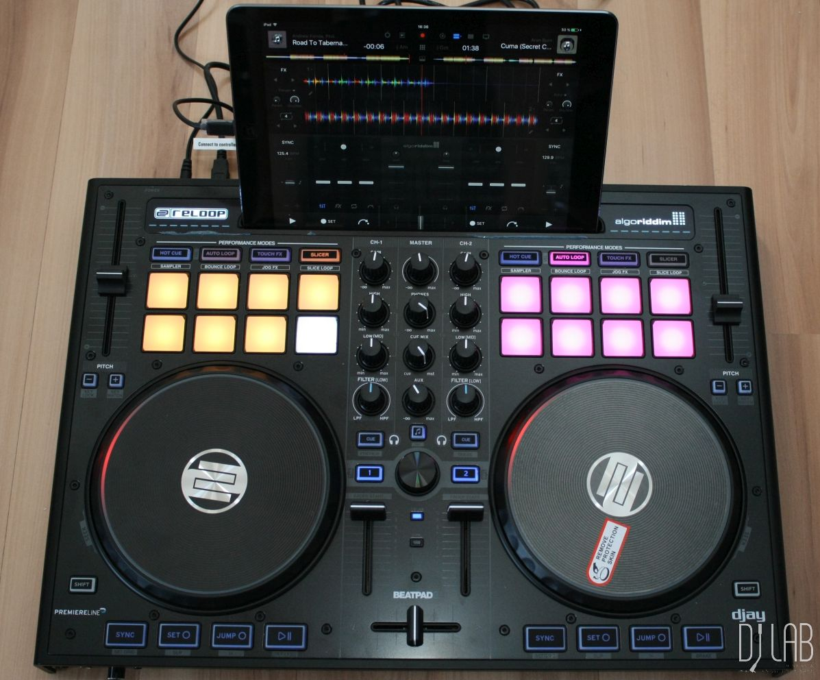 iPad DJing