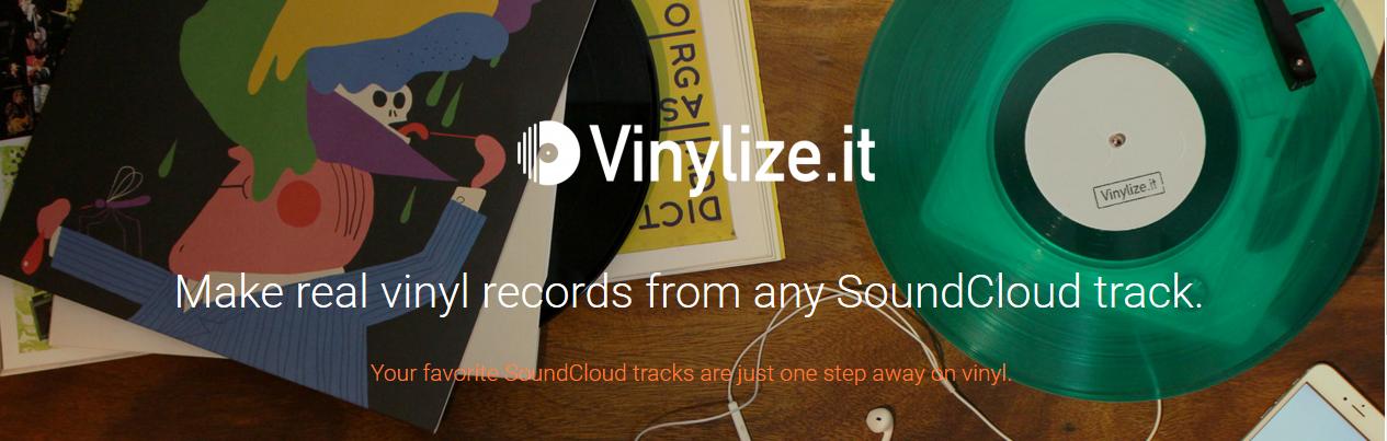 Soundcloud auf Vinyl? Vinylize.it macht es möglich!