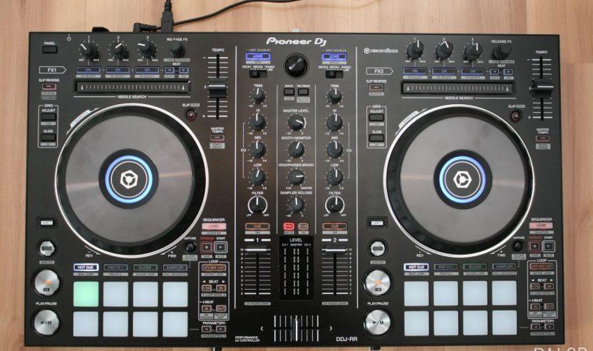 Test: Pioneer DDJ-RR – 2-Kanal-Controller für Rekordbox DJ
