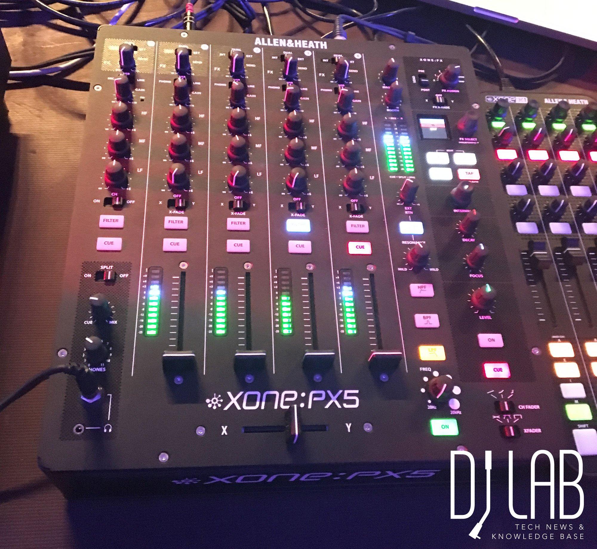 Allen & Heath Xone:PX5 - Es ist ein Mixer!