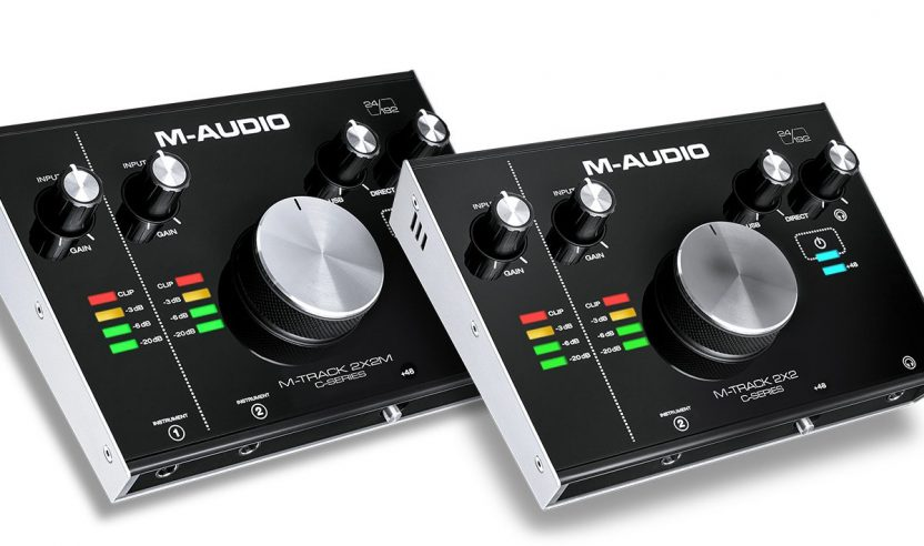 Neu: M-Audio M-Track – 2×2 Audio-Interface