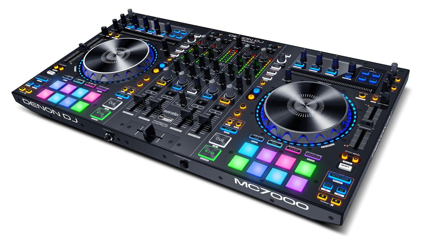 Neu: Denon DJ MC7000 - 4-Kanal-Controller für Serato DJ