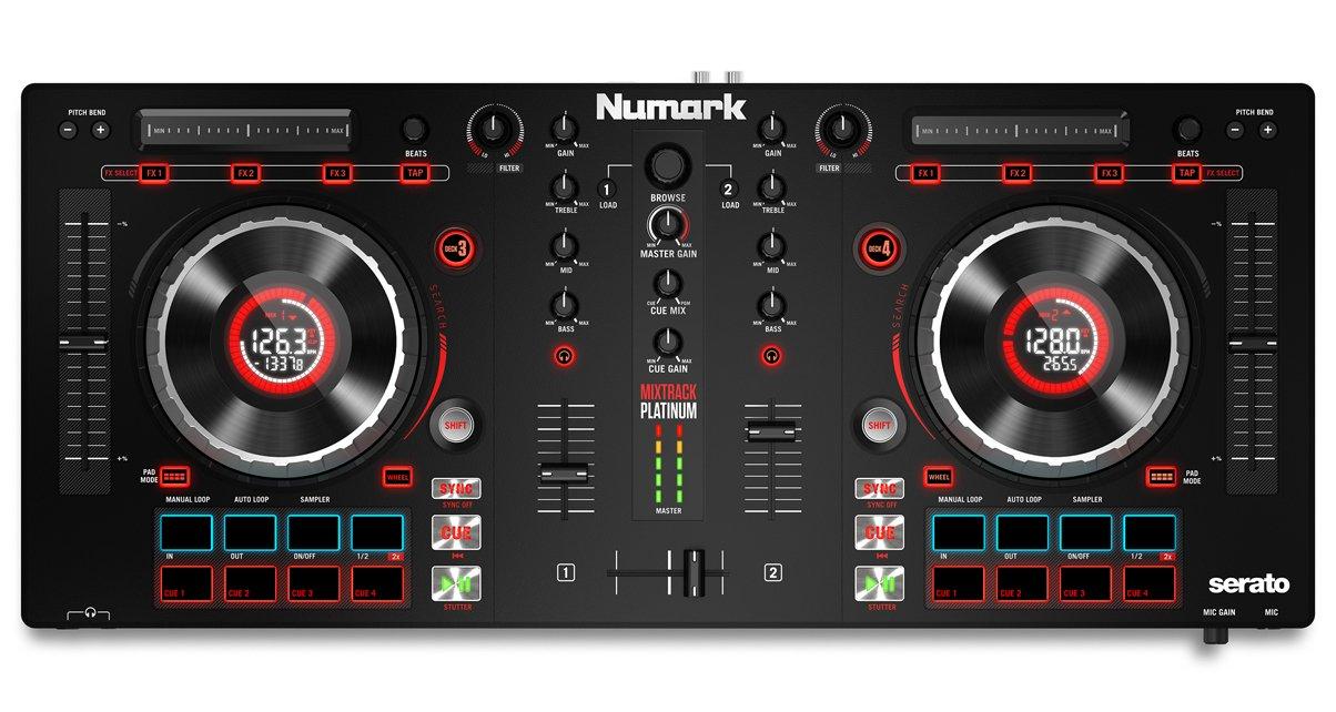 Neu: Numark Mixtrack Platinum - Controller für Serato