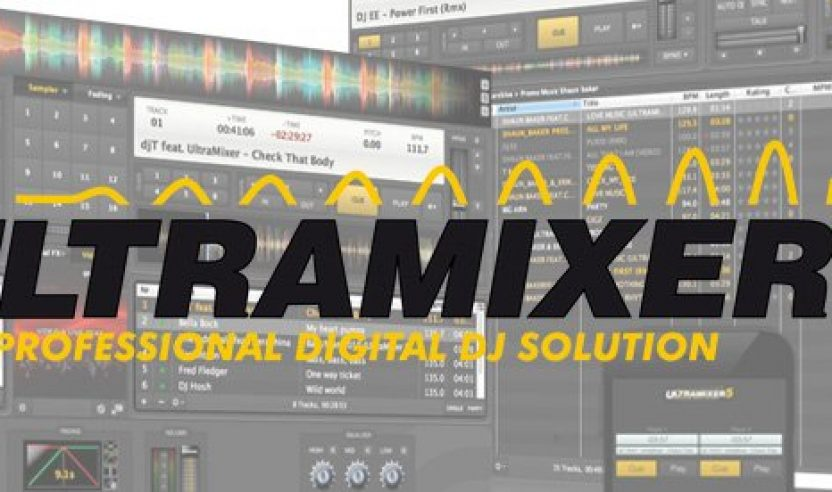 Gewinne eine Ultramixer 5S Pro Entertain DJ-Software