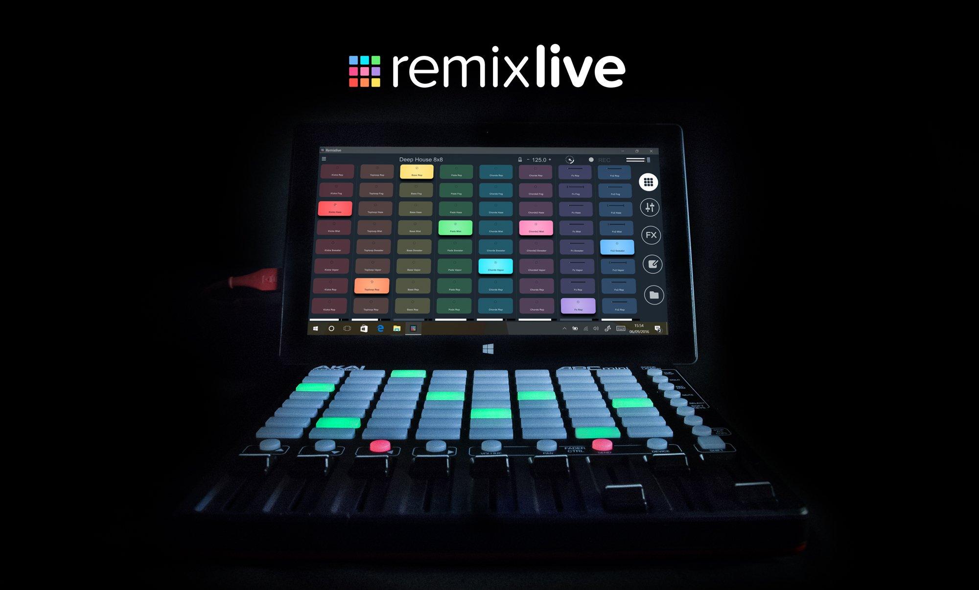 Mixvibes Remixlive - Jetzt auch für Windows