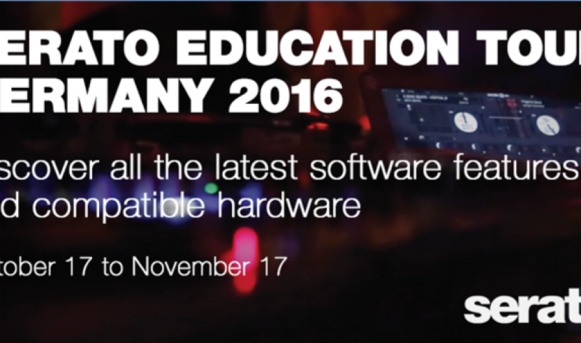 Workshop: Serato Education Tour 2016