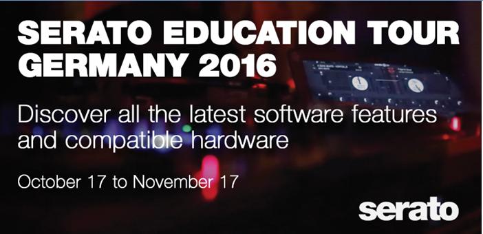 Workshop: Serato Education Tour 2016