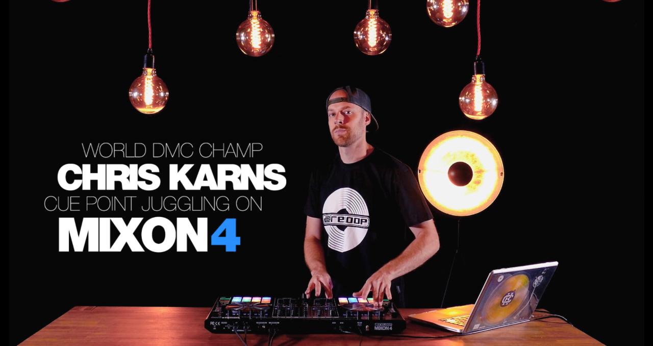 Video: Chris Karns am Reloop Mixon 4