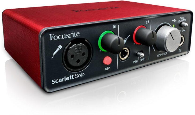 SCARLETT SOLO - Neue Soundkarte