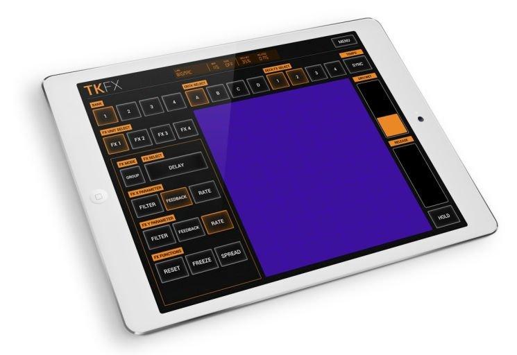 TKFX - Controller App für iOS und Android