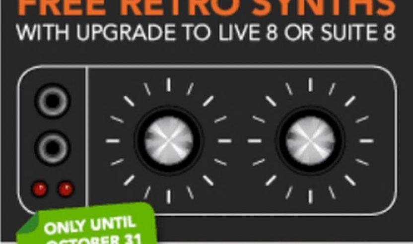 ABLETON LIVE goes Retro - und zwar gratis!