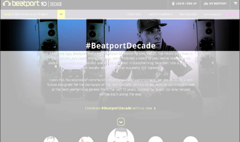 BEATPORT – Pro Beta