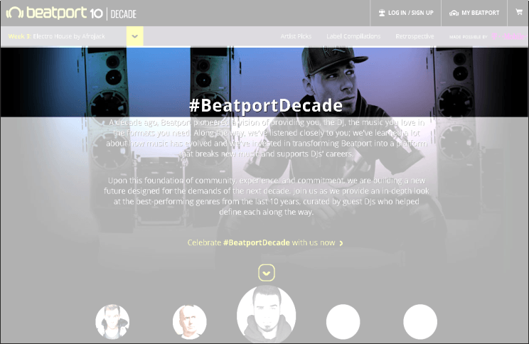 BEATPORT - Pro Beta