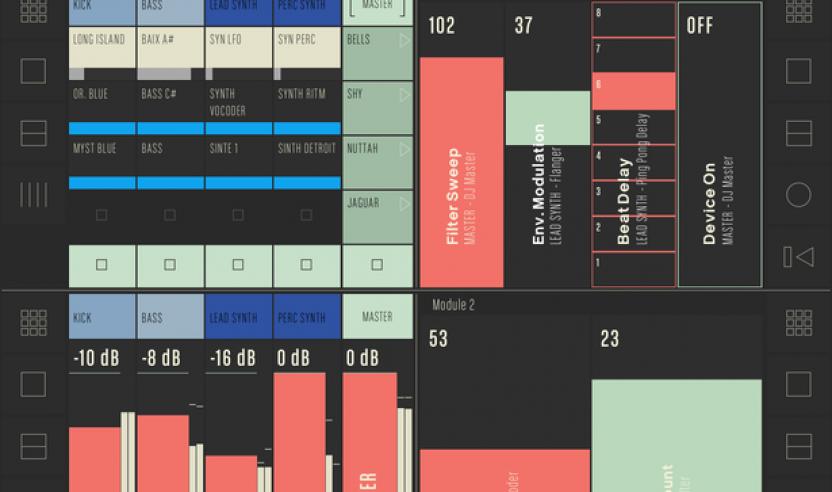 CONDUCTR - Live Controller App fürs iPad