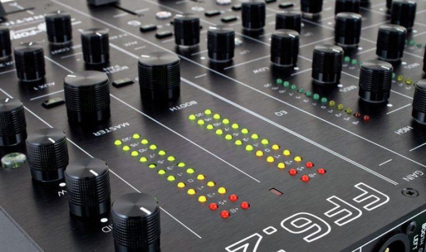 DJ-Mixer von FUNKTION ONE