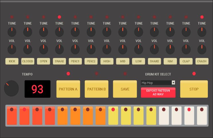 HTML5 Drummachine