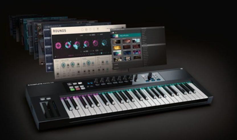 KOMPLETE 10 und Keyboards dazu