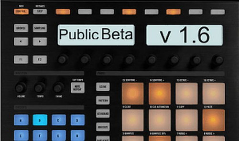 NI MASCHINE – Public Beta Test v1.6
