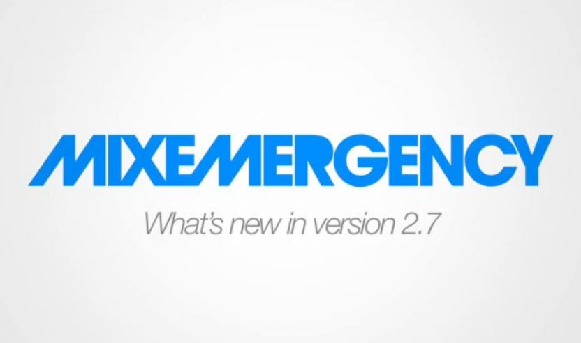 Update: MIXEMERGENCY 2.7