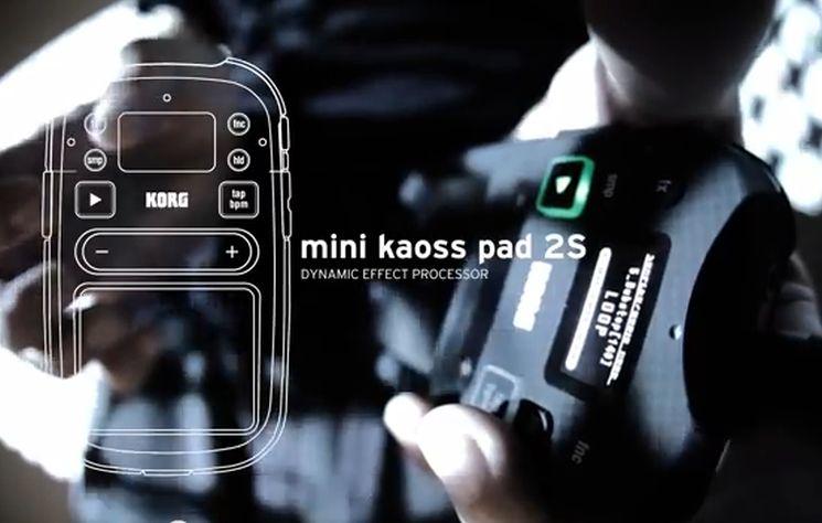 KORG mini KAOSS PAD 2S - Effekte & Sampler