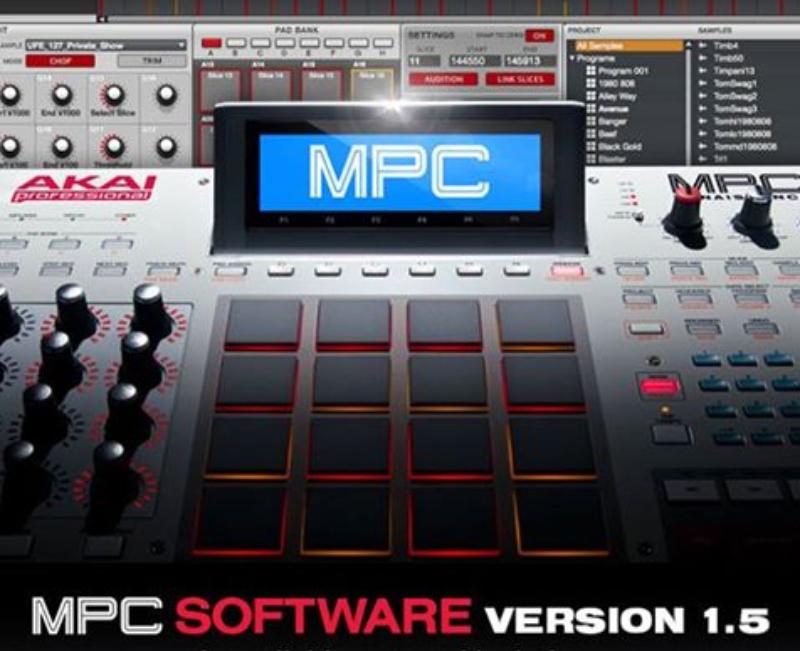 AKAI MPC Software 1.5 Update