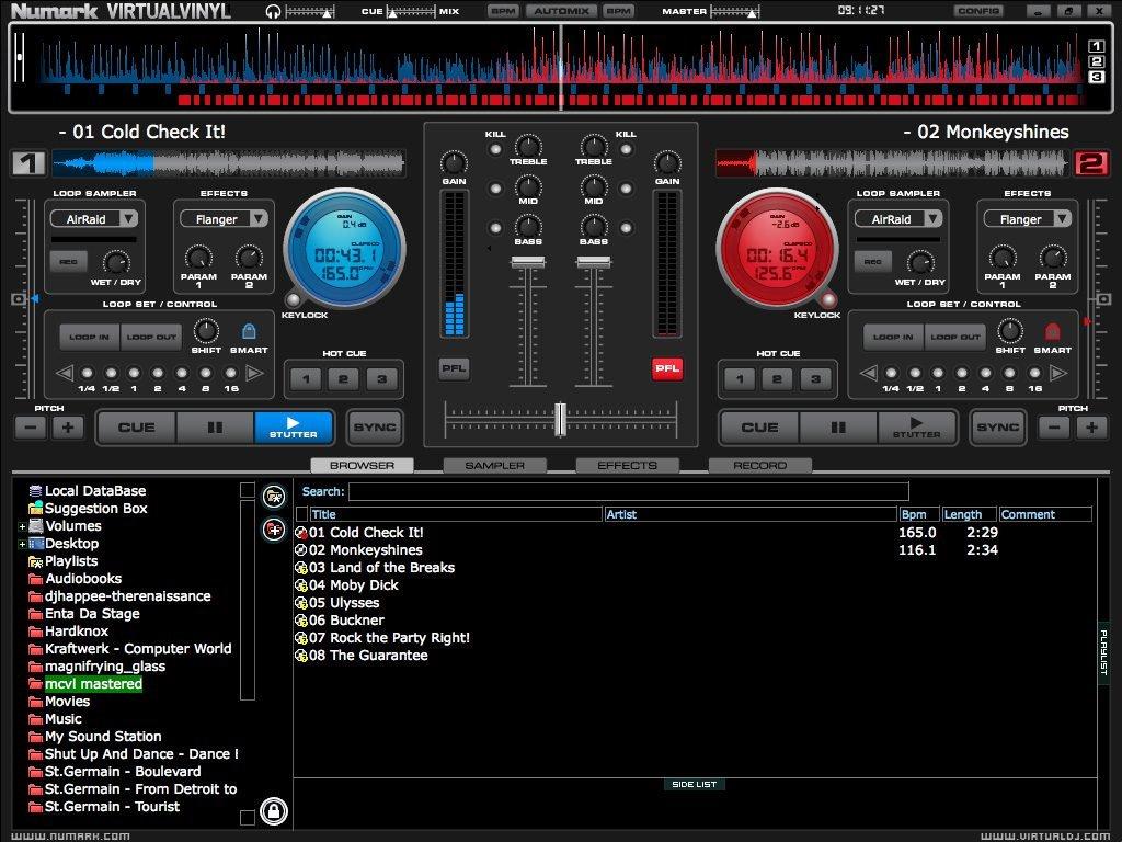 NUMARK CUE – DJ-Software