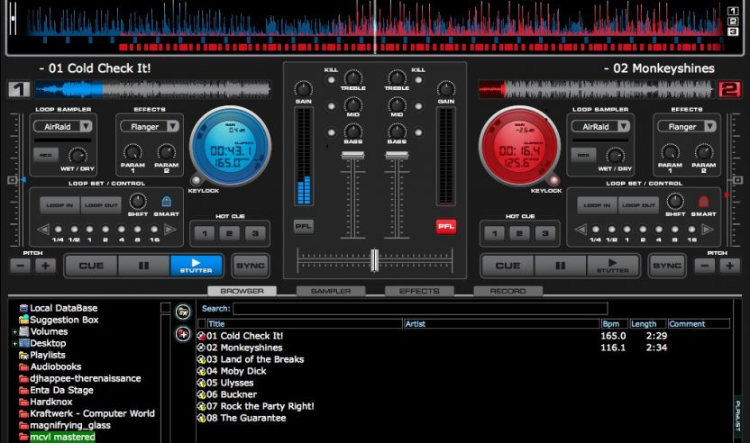 NUMARK CUE - DJ-Software