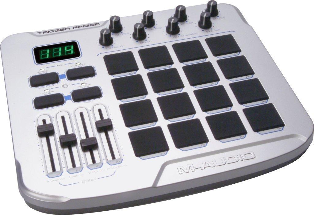 pad controller m audio trigger finger