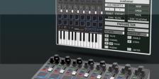 MIDI Editor für KEYPAD und KEYFADR