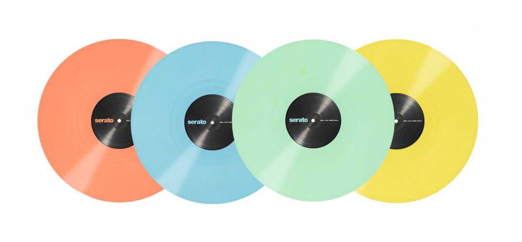 SERATO Control Vinly - Pastell Serie