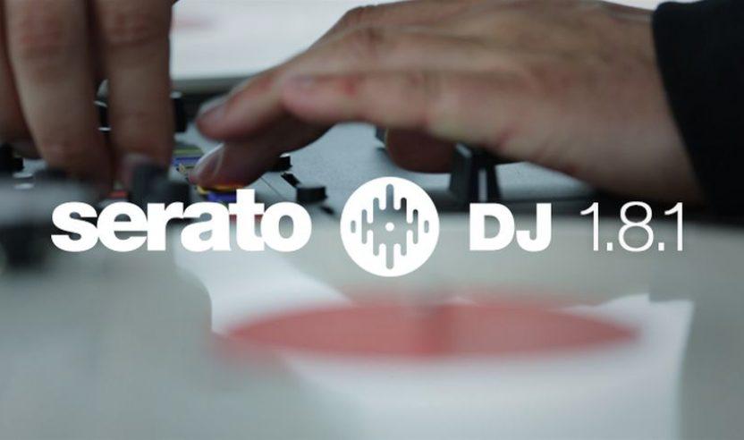 SERATO DJ 1.8.1 Update