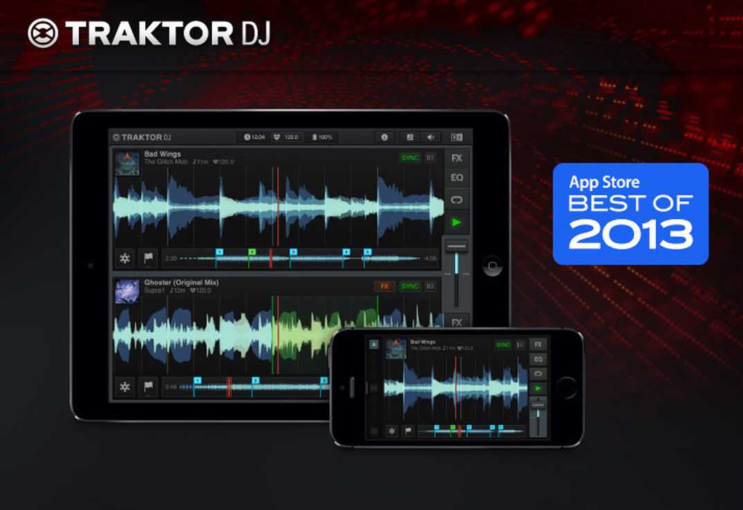 TRAKTOR DJ App – Version 1.4