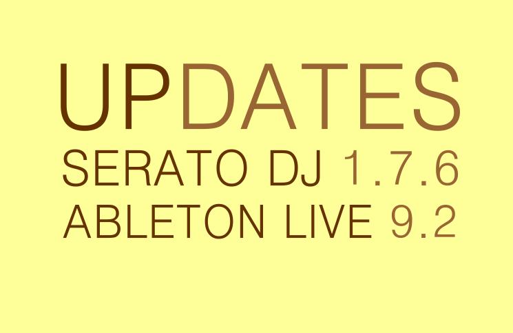 Updates bei ABLETON und SERATO