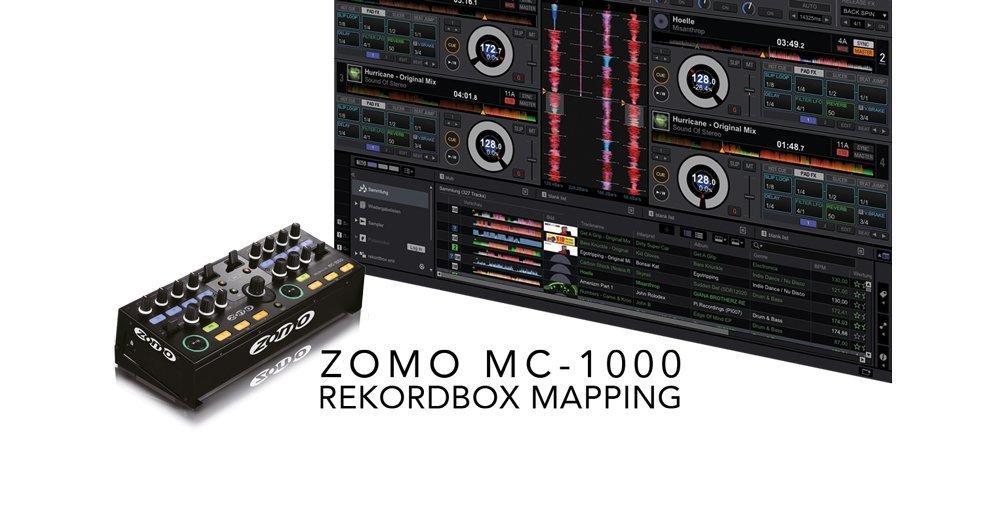 Video: Rekordbox Midi-Mapping für Zomo MC-1000
