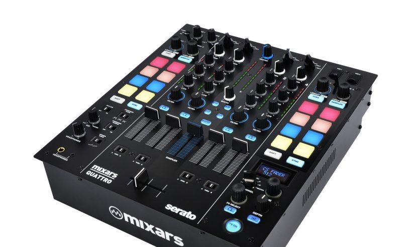 Mixars Quattro - 4-Kanal Serato DVS-Mixer