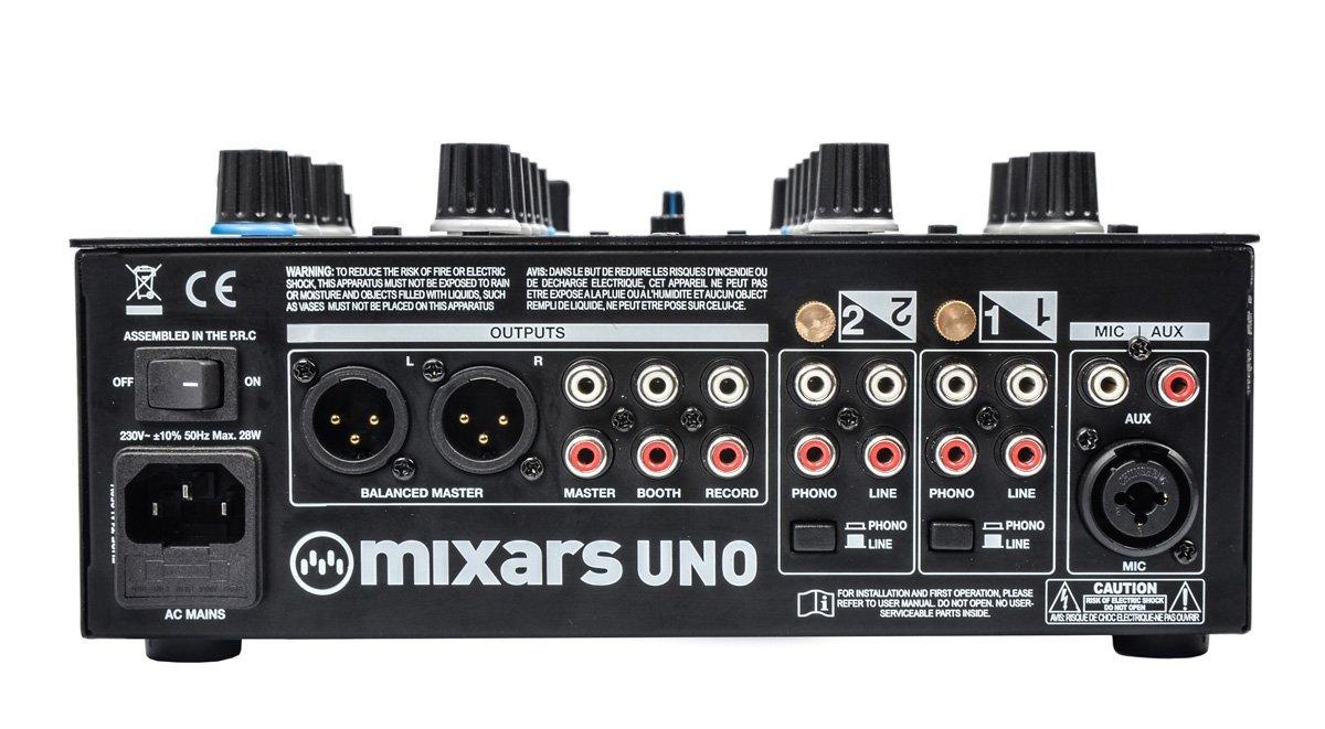 Mixars Uno - Battlemixer mit neuem Crossfader