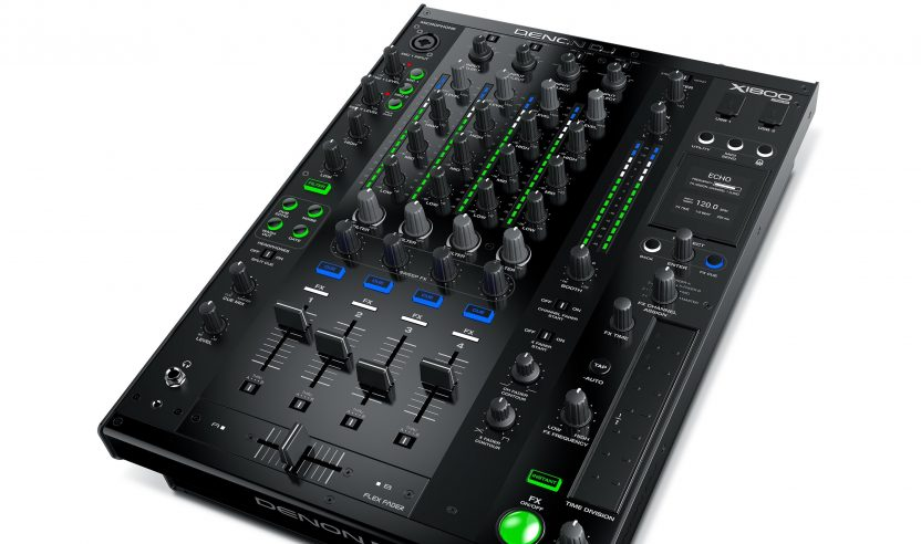 Neu: Denon DJ X1800 Prime – 4-Kanal Clubmixer